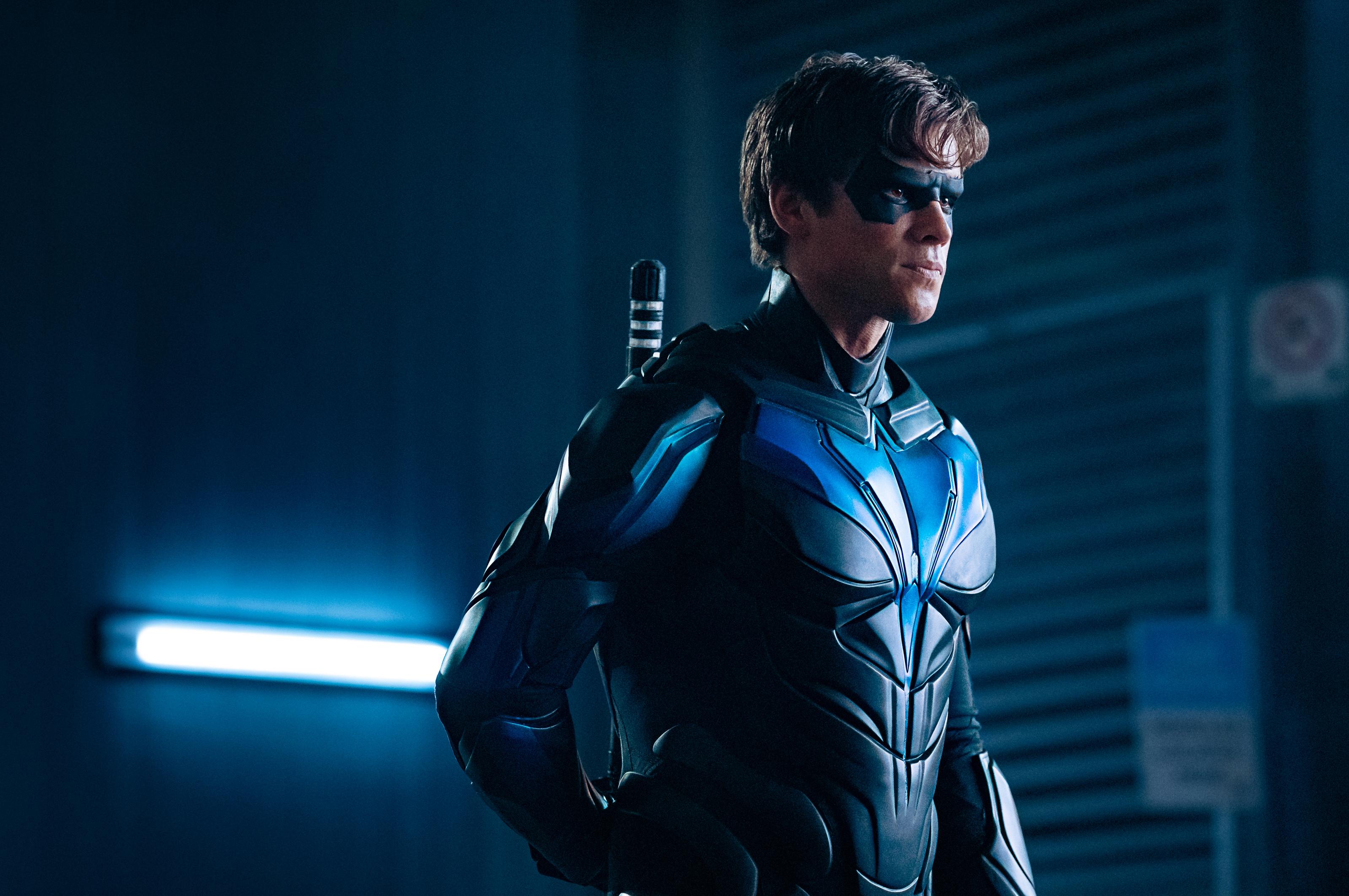 Nightwing Titans Tv Series by Timetravel6000v2 on DeviantArt