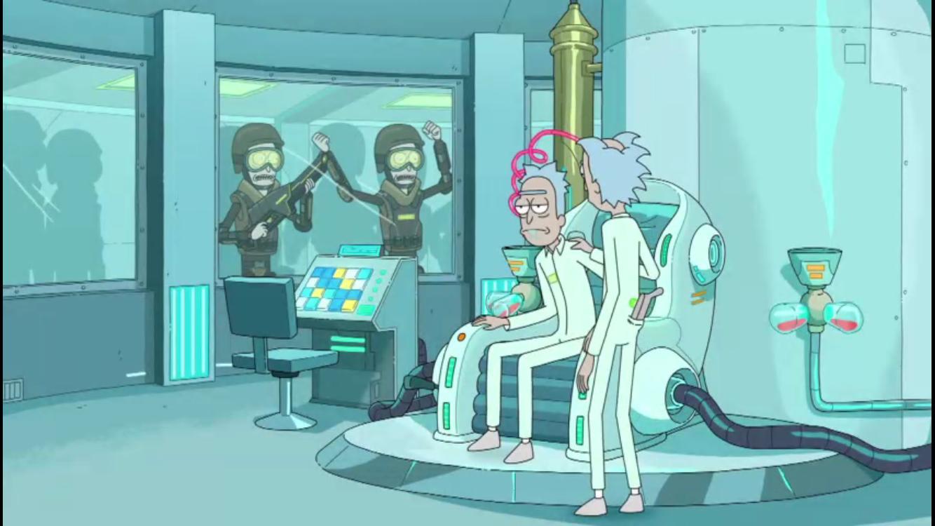 Rick and Morty Season 3 Episode 7: The Ricklantis Mixup
